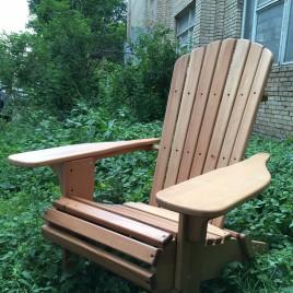 Складное кресло «Adirondack»